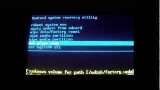 Cum flash-uim un ROM la Tableta CT1002