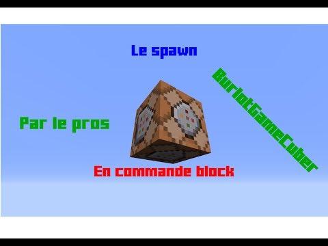 Commandes block | minecraft épisode 01 : le spawn.