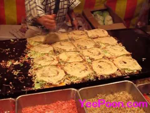 ้วิธีทำโอโนโนมิยากิ how to cook okonomiyaki