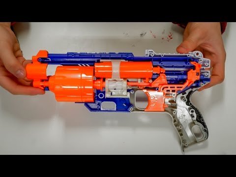 How To Mod A Nerf Disruptor/Strongarm - NBP Easy Modz!