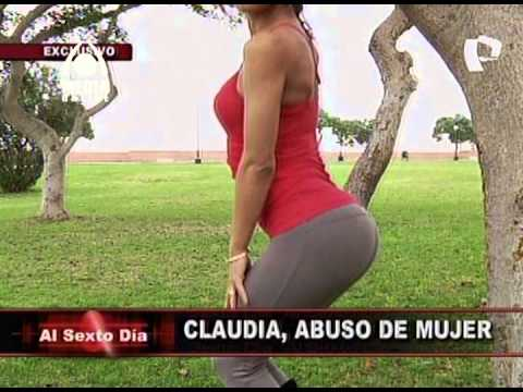Claudia Abusada, abuso de mujer