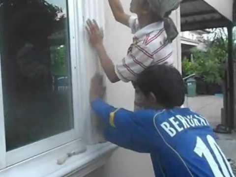 การติดตั้งบัวหน้าต่าง บัวเบา™