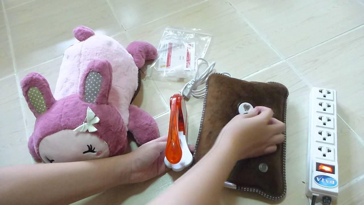 รีวิวกระเป๋าน้ำร้อนไฟฟ้า ดีไซด์น่ารัก นุ่มนิ่ม น่ากอด by JL shop 4U
