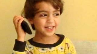My 3 Year Old Nicolai Singing Ebi (Farsi Song)