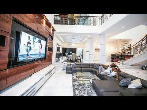 Amazing View Of Paul Okoye's(Psquare) New Multi Million Naira Mansion, Banana Island 2017