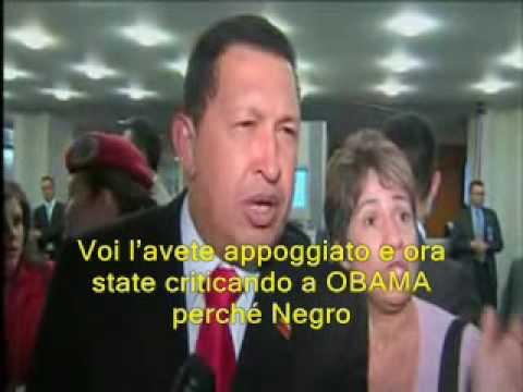 GRANDIOSA RISPOSTA DI HUGO CHAVEZ A FOXNEWS