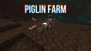 Minecraft Piglin Farm Glitch!! PS4, XBOX, Bedrock Edition!