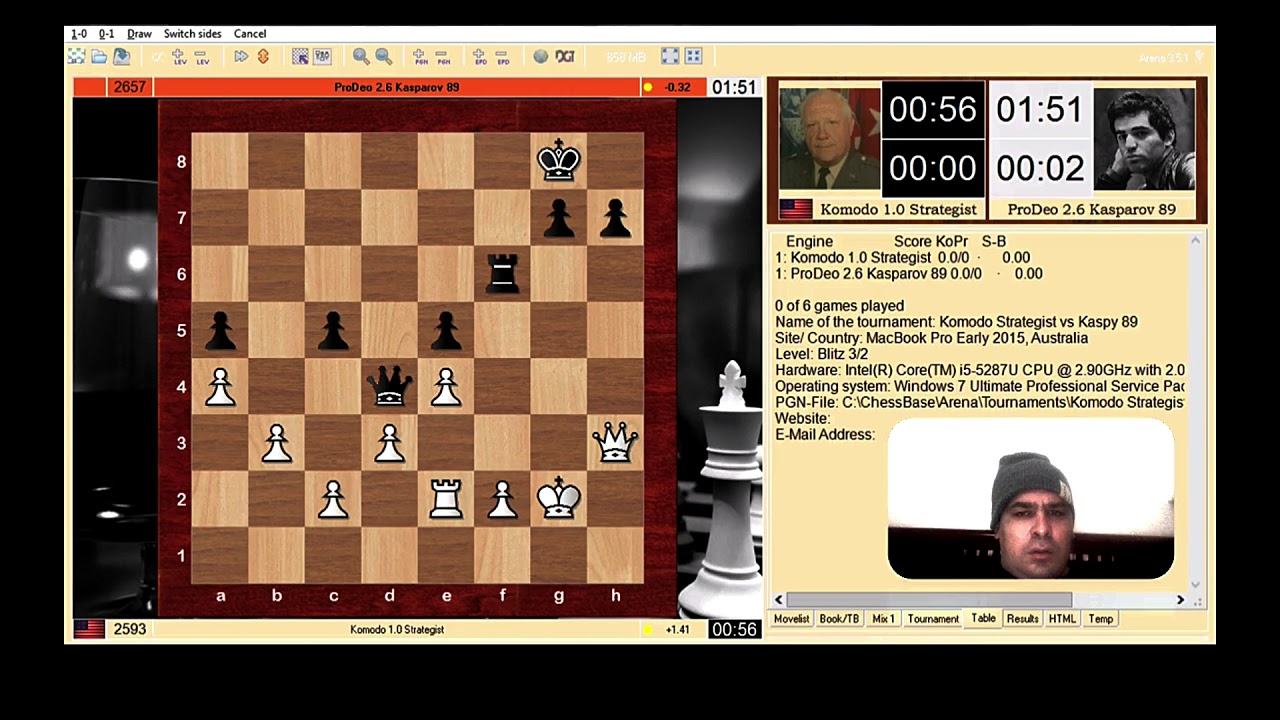 Tactical vs Positional Chess Engine Style Challenge #tacticalvspositional