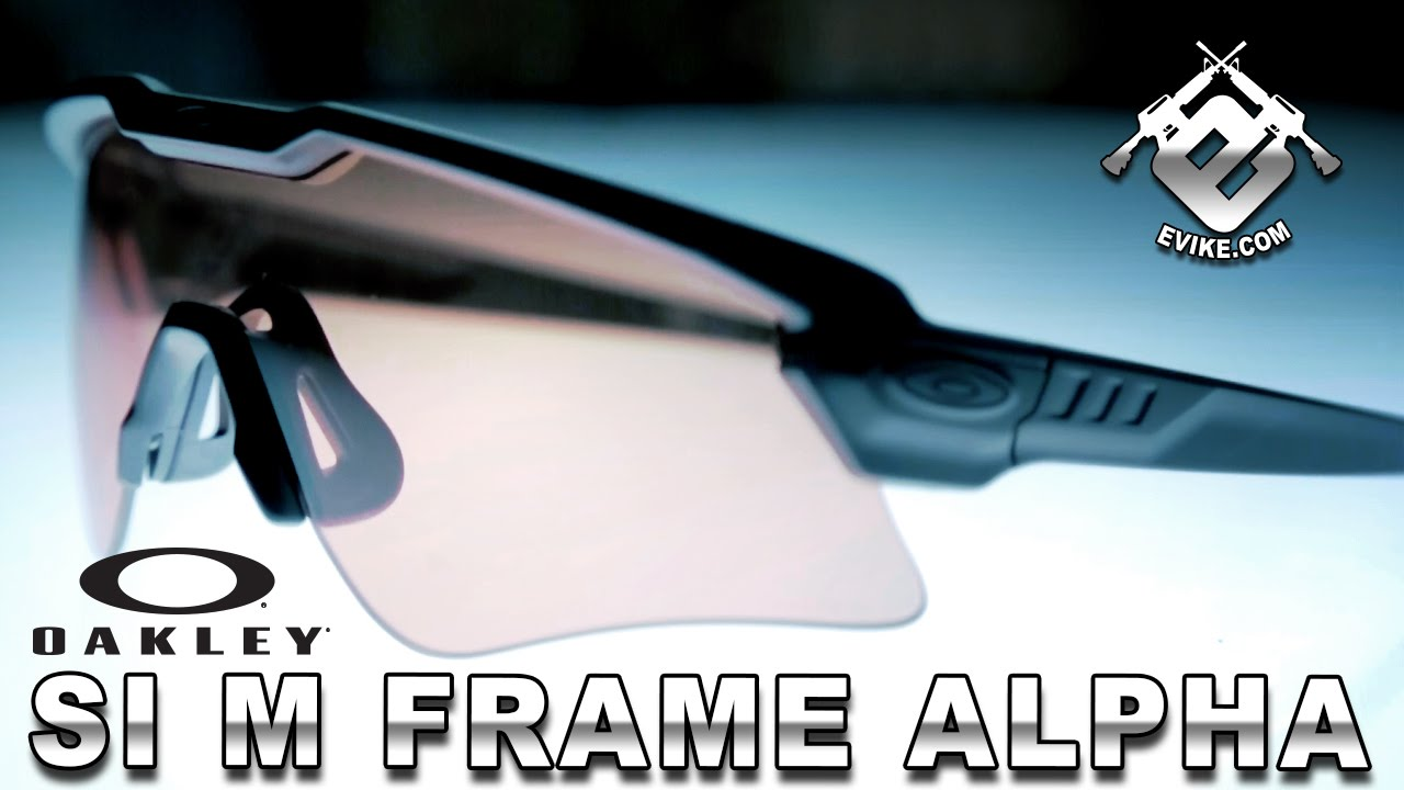 oakley m frame alpha lenses