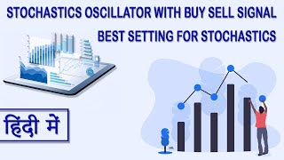 Stochastics Oscillator with buy sell signal and best setting for stochastics (Hindi/Urdu)