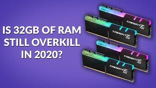Is 32GB of RAM Still Overkill …