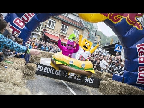 Soapbox Carnage in the Netherlands - Red Bull Soapbox Race 2015
