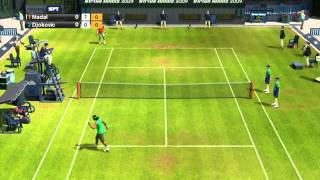 Virtua Tennis 2009  Español gameplay Xbox 360