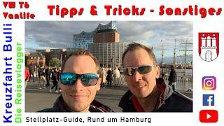 Stellplatz-Guide #01 : Rund um Hamburg [Stellplätze, Camping, VW T6 Vanlife]