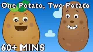 One Potato, Two Potato and More | Nursery Rhymes from Mother Goose Club