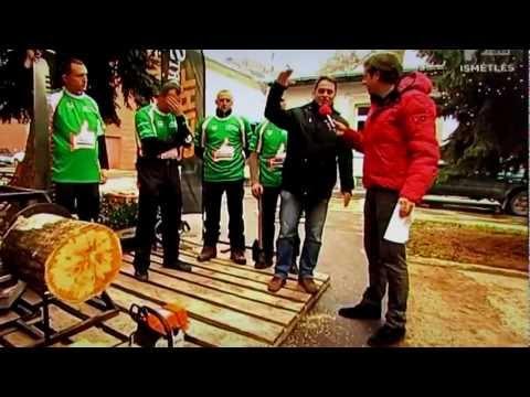 Magyar Stihl Timbersports bemutató
