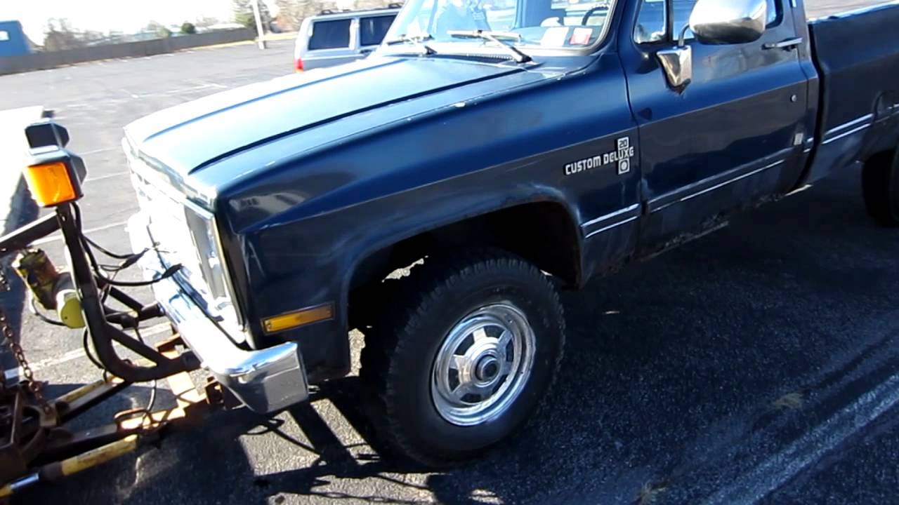 1973 To 1987 Chevy Truck For Sale