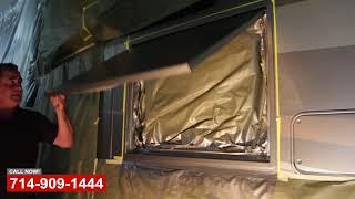 Outdoor RV TV Install