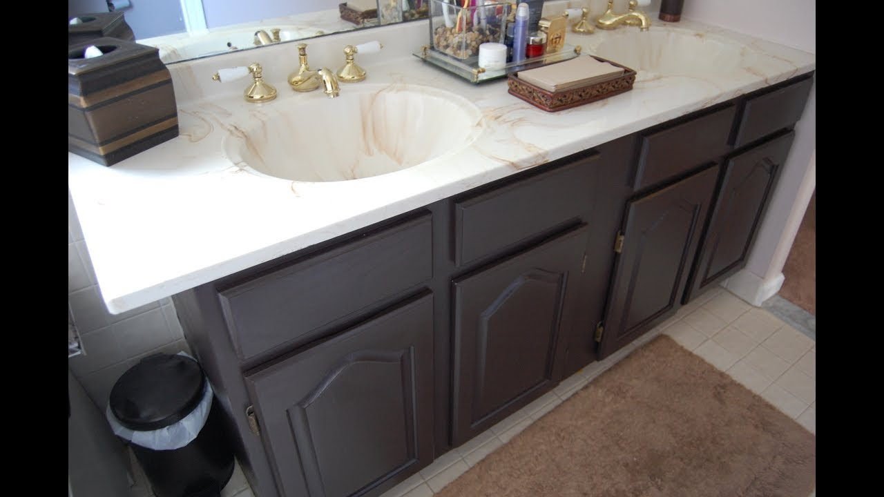 paint bathroom vanity youtube