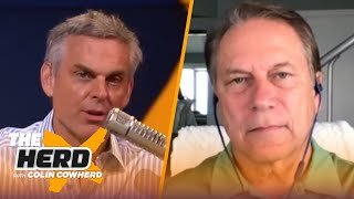Tom Izzo on how G-League is now affecting college basketball, Michigan St, Draymond Green | THE HERD