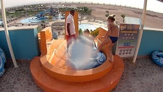 the wave water slide at makadi bay water world