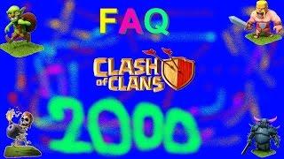 [CLASH OF CLANS] 2000 ABONNES - POSEZ VOS QUESTIONS !