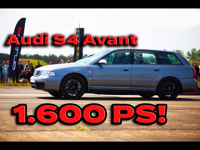Audi S4 Avant mit 1.600 PS!!! Ich darf mitfahren!! TTD im Interview