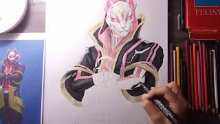 Speed Drawing Atemporal (new skin in Fortnite)