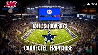Madden 15 (PS4): Dallas Cowboys Connected Franchise - EP5 (Week 5 vs Texans)