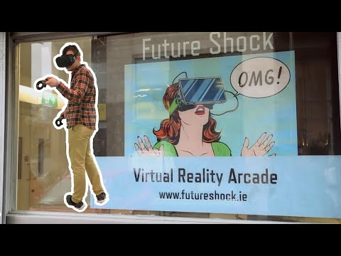 VIDEO: Take a sneak peek inside this cool new virtual reality gaming arcade opening in Smithfield