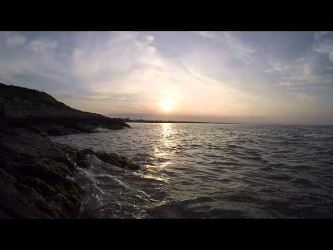 Sunset Ireland relaxing view and  sound - GoPro 4