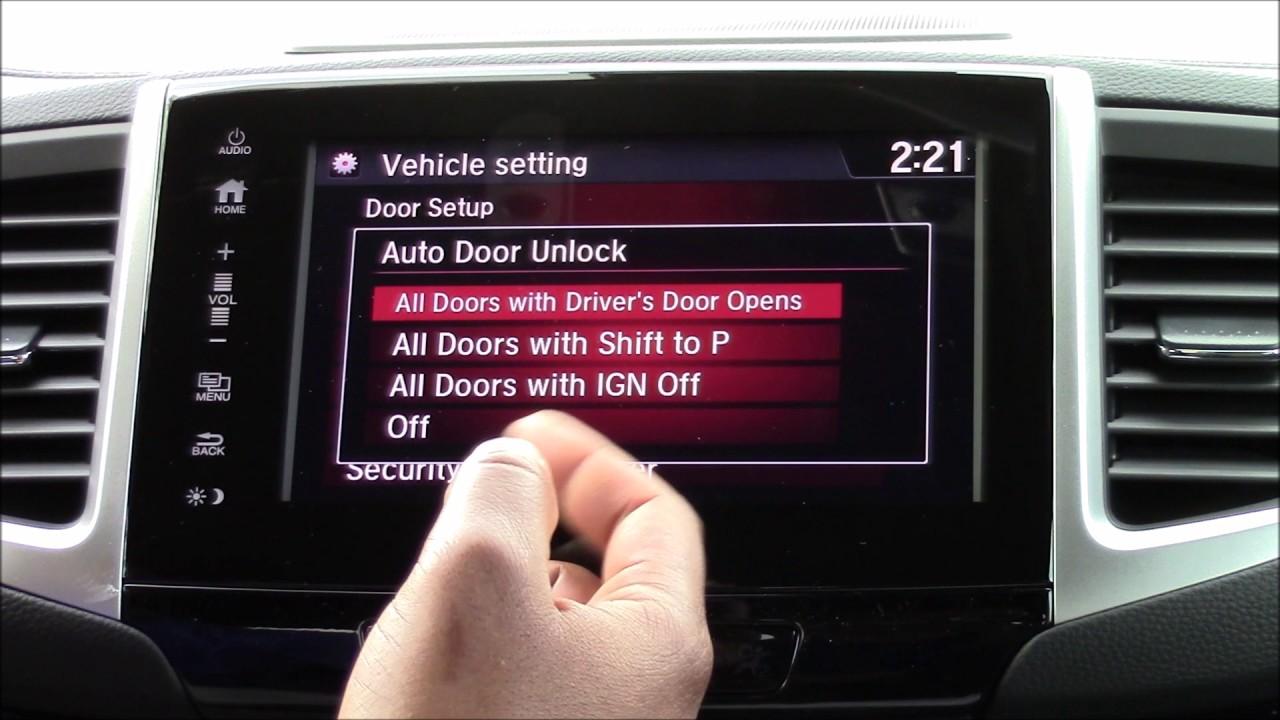 Image Result For Honda Ridgeline Door Unlock