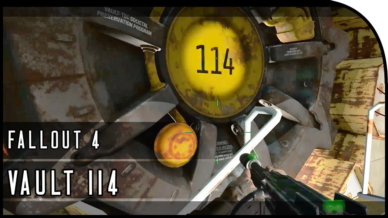 Fallout 4 Gameplay Walkthrough Part 15 VAULT 114 NICK