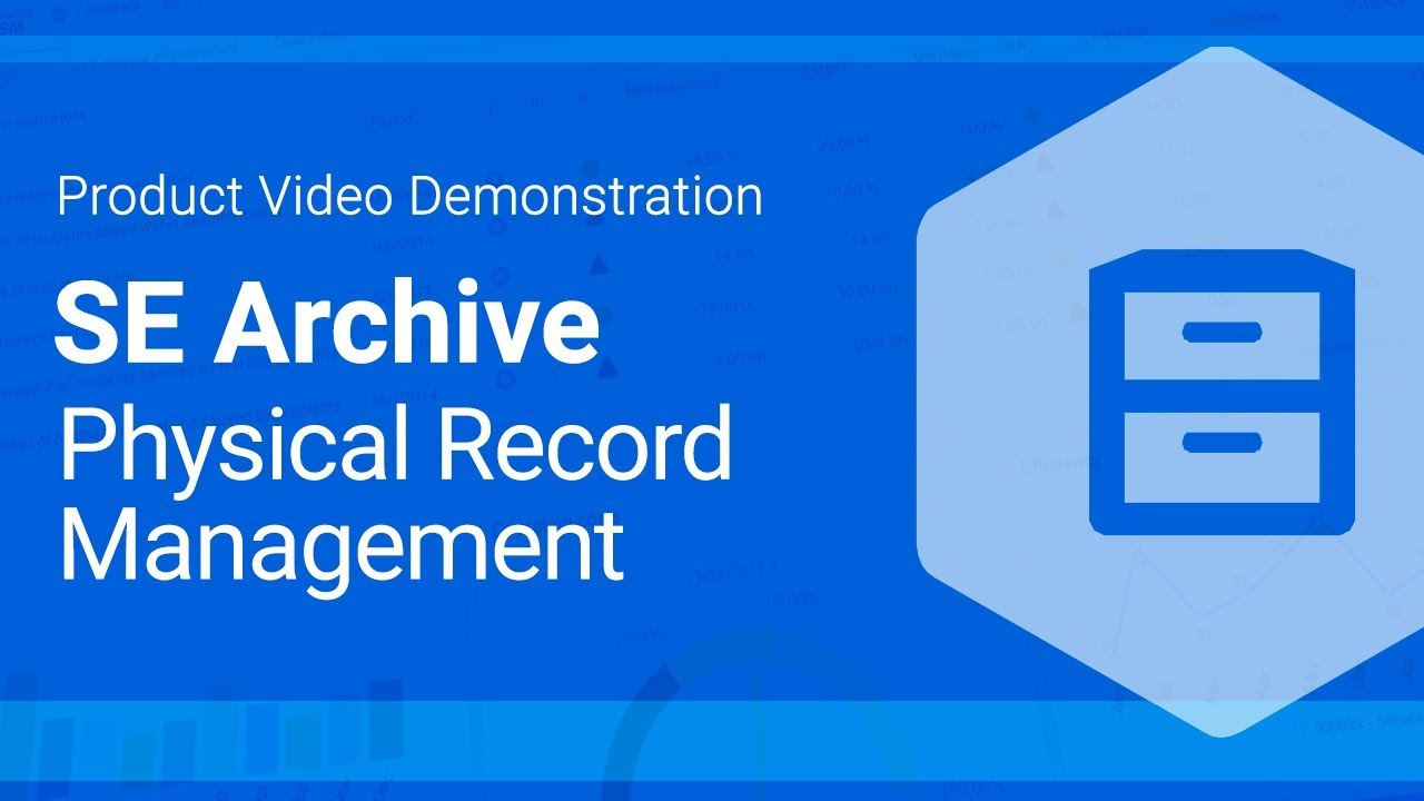 record and archive management Records managers achieve these goals in many ways, including designing systems, analysing business processes, designing business full-time and part-time postgraduate programmes in records and archives management, accredited by the archives and records association, are.
