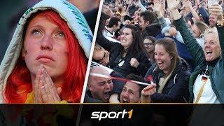 Gänsehaut! Tränen und Ekstase bei Deutschland vs. Schweden | SPORT1 - WM 2018