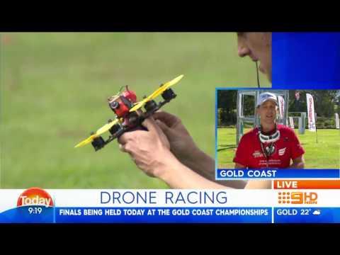 2016 Australian Drone Nationals Gold Coast Australia Channel 9 Today Show