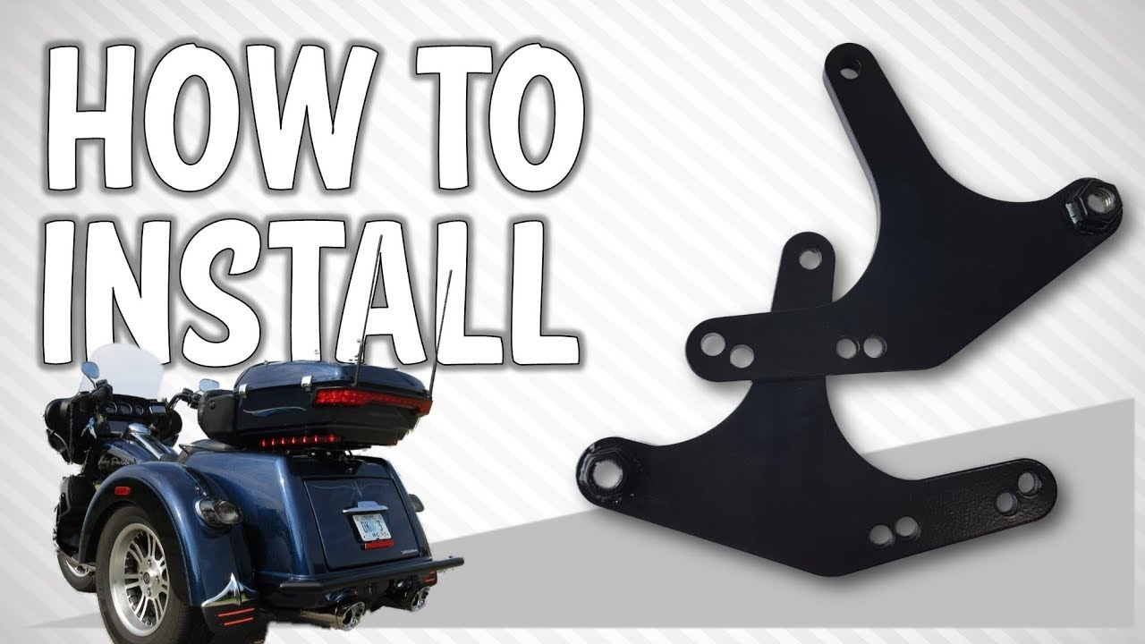 How to Install a Comfort Lift™ or Standard Lift Kit on a Harley Trike