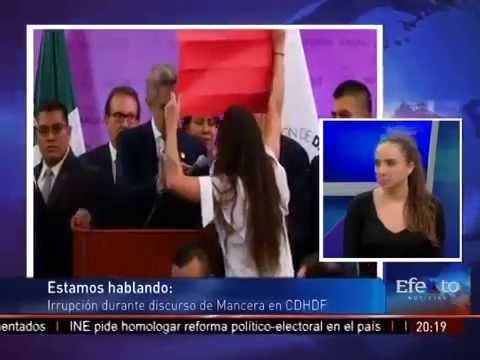Entrevista a Gisela Pérez de Acha, Integrante Femen en Efekto Noticias