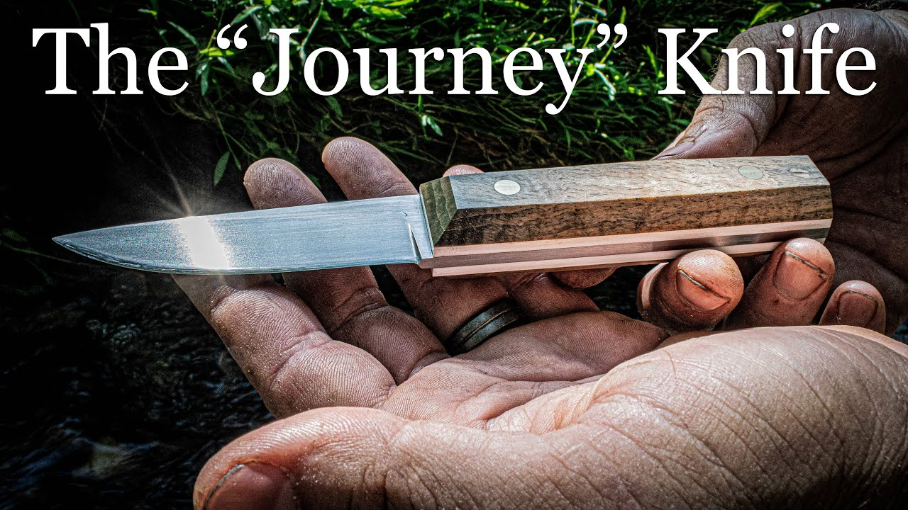 "Making the ""Journey"" Knife"