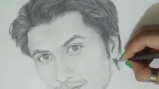 Amazing Sketch of Ali Zafar | MUST WATCH ! - Best Pakistani Dramas
