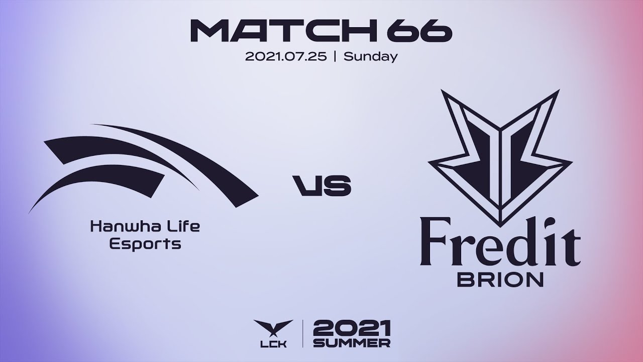 한화생명 vs. 프레딧 | 매치66 하이라이트 | 07.25 | 2021 LCK 서머 스플릿