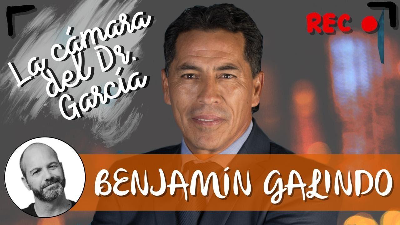 Benjamín Galindo en 'La cámara del Dr. García' 👨🏼🦲🎥💥
