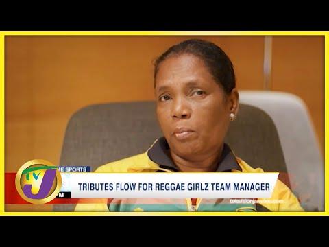 Tributes Flow for Reggae Girlz Team Manager Jean Nelson