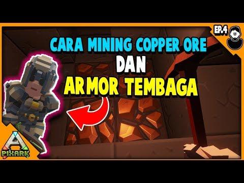 PixArk Indonesia - Cara Mining Copper Ore Dan Membuat Armor Copper