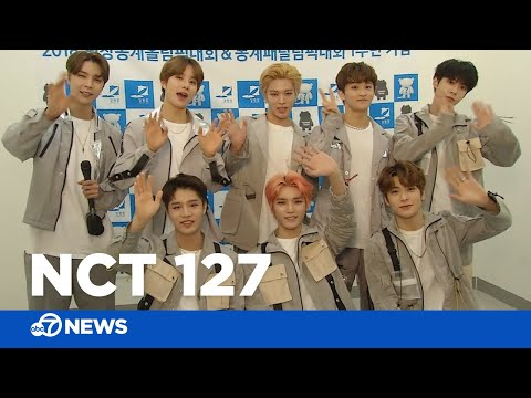 Backstage With K-Pop Band NCT 127 And Watch 'Simon Says'