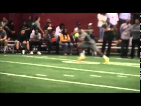 Amari Cooper Catching Passes 2015 Alabama Pro Day