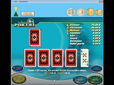 Ray Pelaamo - Jokeripokeri HD