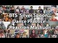 BTS Silver Spoon Baepsae Mirrored Dance Practice Reaction Mashup mp3