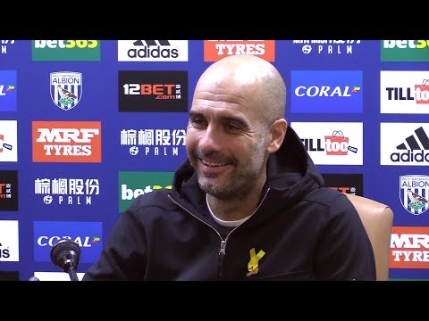 West Brom 2-3 Manchester City - Pep Guardiola Full Post Match Press Conference - Premier League