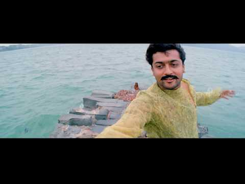 Kaaka Kaaka movie scenes | Title Credits | Uyirin Uyirae Song | Suriya remembers past | Jyothika